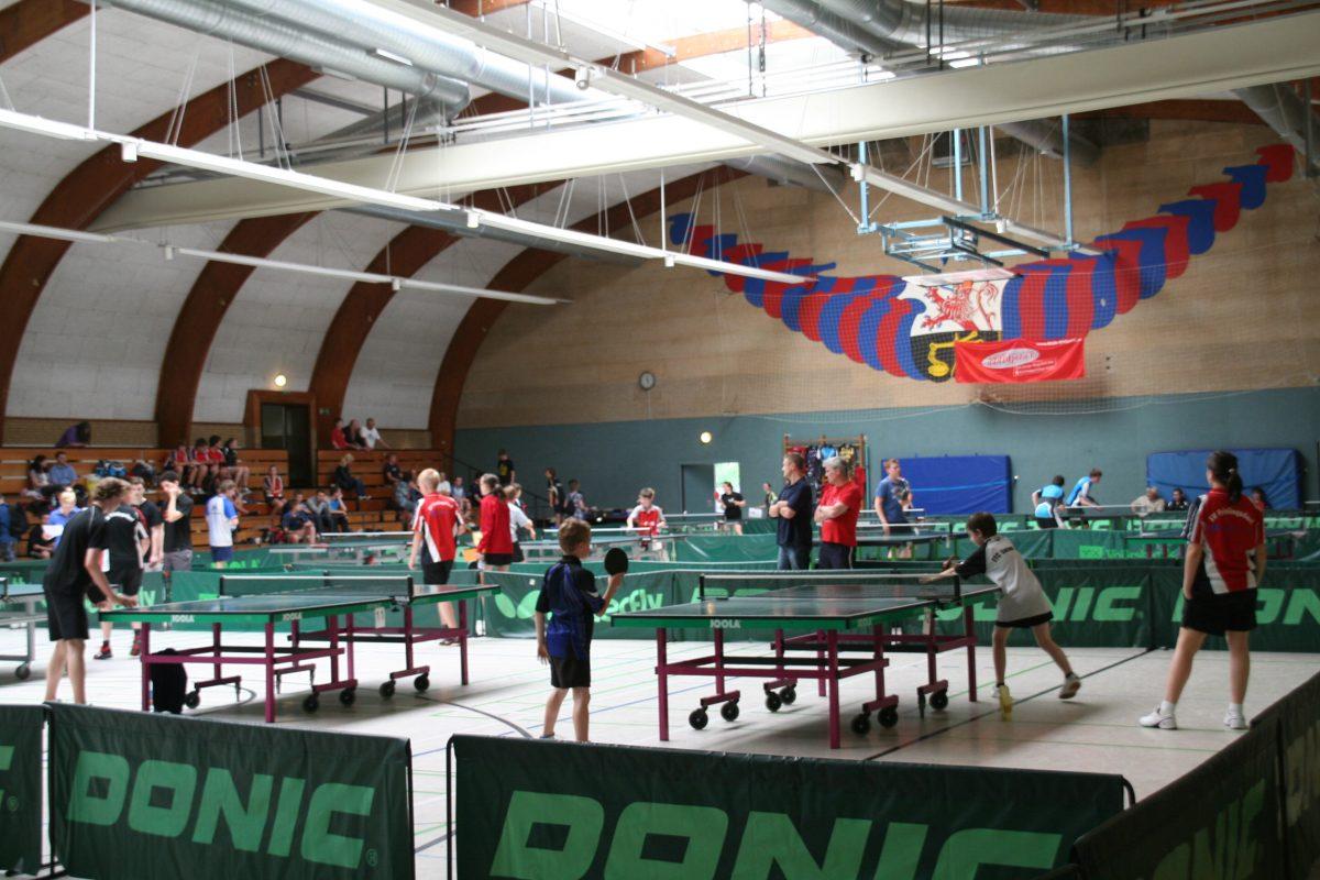 24. Tischtennis-Jugend-Turnier des SVF am 13. und 14. Mai 2017