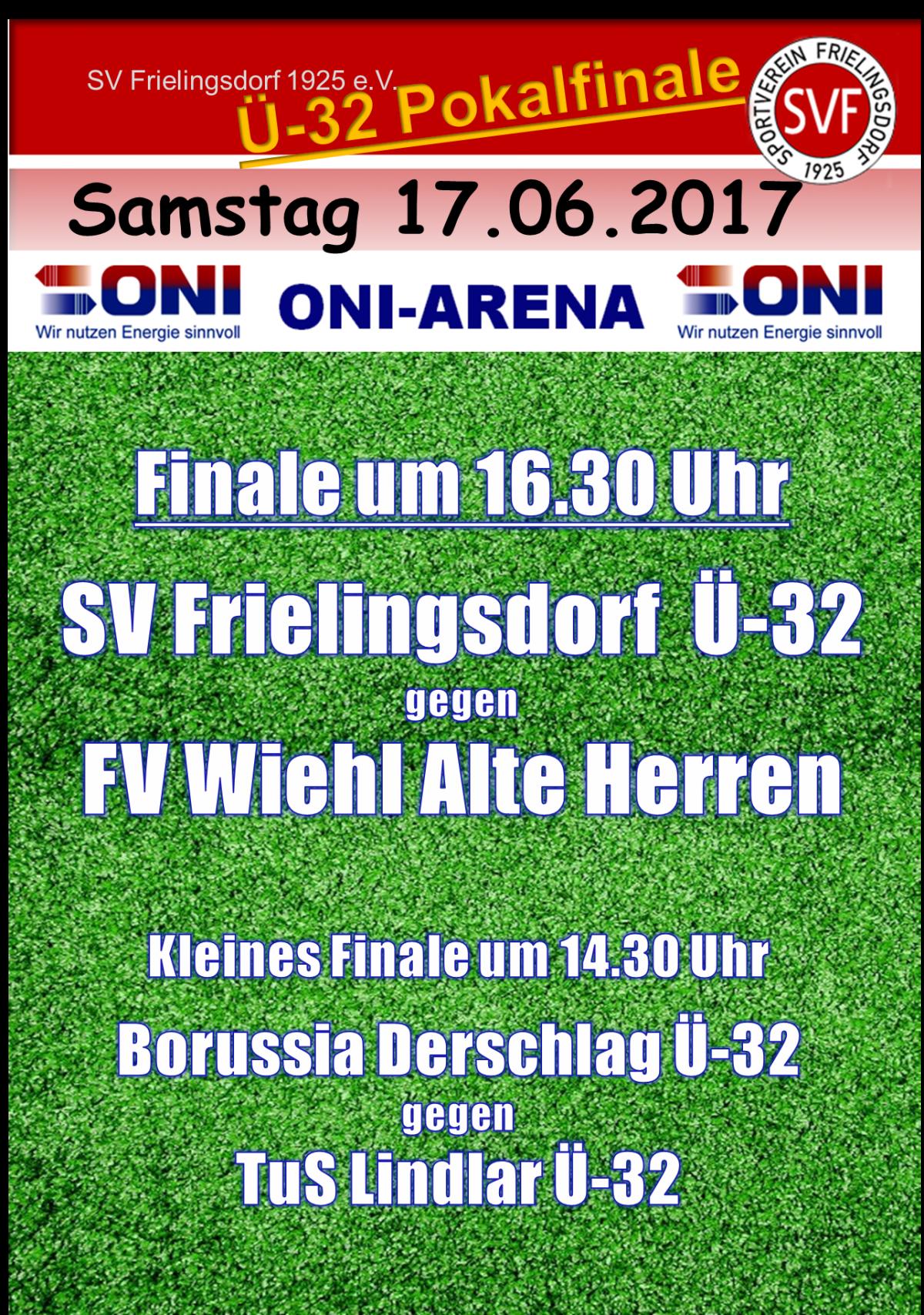 Ü-32 Pokalfinale in Frielingsdorf in der ONI Arena