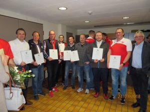 Verleihung Ehrennadel Fußball