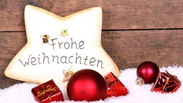 Eine frohe, besinnliche Weihnachtszeit