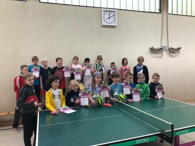 Tischtennis Mini- Meisterschaften 2020